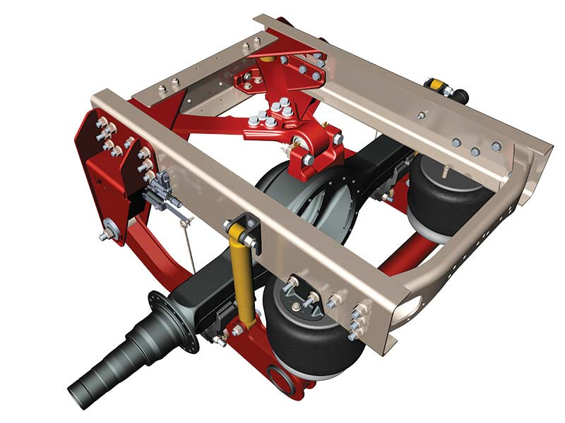 V-Ride Rear Suspension